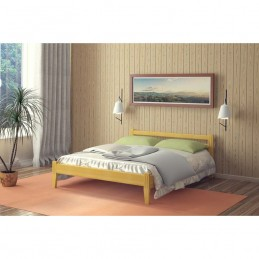 """Кровать """"Южанка"""", Орех 1,4 м"""