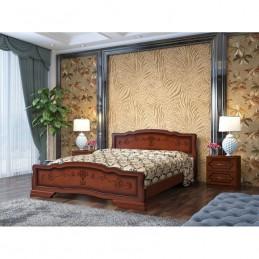 """Кровать """"Карина-6"""", орех, 1,4 м"""