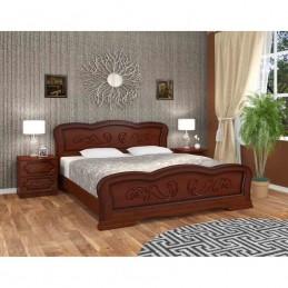 """Кровать """"Карина-8"""", орех, 1,4 м"""