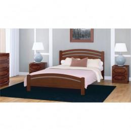"""Кровать """"Камелия-3"""" Орех 1,4 м без матраса"""