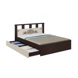 """Кровать """"Жасмин"""" 1,6 м с ящиками"""