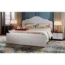 """Кровать """"Престиж"""" 160 см Жемчуг, без матраса"""