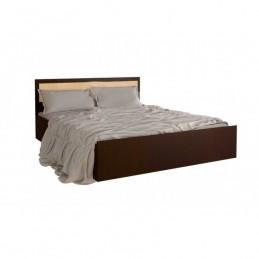 """Кровать """"Фиеста"""" 1,6 м  МиФ Дуб белёный/дуб венге"""