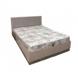 """Кровать двойная """"Вива"""" 160 Мокко с Орт. основанием"""