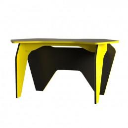 """Компьютерный стол """"Базис 2"""" Чёрный/желтый"""
