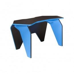 """Компьютерный стол """"Базис 2"""" Чёрный/Светло синий"""