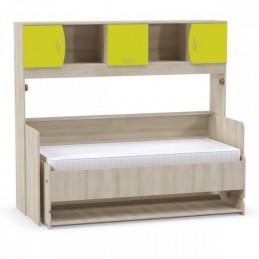 """Стол-кровать """"Ника 428 Т"""" Лайм зелёный"""