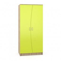 """Шкаф """"Ника 401"""" Лайм зелёный"""