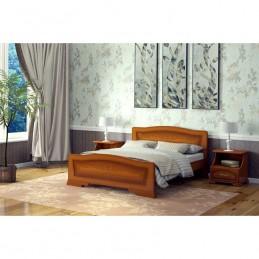 """Кровать """"Орхидея"""", Орех 1,4 м"""