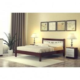 """Кровать """"Катрин-2"""", 1.4 м Орех/белый"""