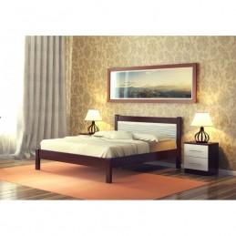 """Кровать """"Катрин-3"""", 1.2 м Орех/белый"""