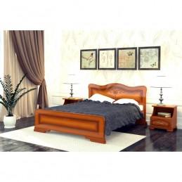 """Кровать """"Лилия"""", 1.4 м Орех"""