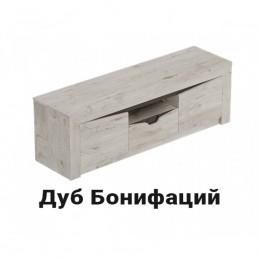 """Тумба ТВ """"Соренто"""" Дуб Стирлинг с 2мя дверцами и ящиком"""