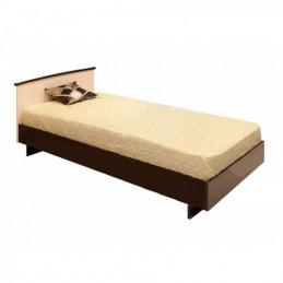 """Кровать """"КСП-0,9"""" венге 0,9 м с матрасом"""