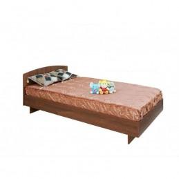 """Кровать """"К-0,9"""" орех донской с матрасом"""