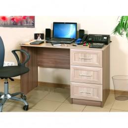 """Компьютерный стол """"ПКС-6"""" Ясень шимо светлый/тёмный"""