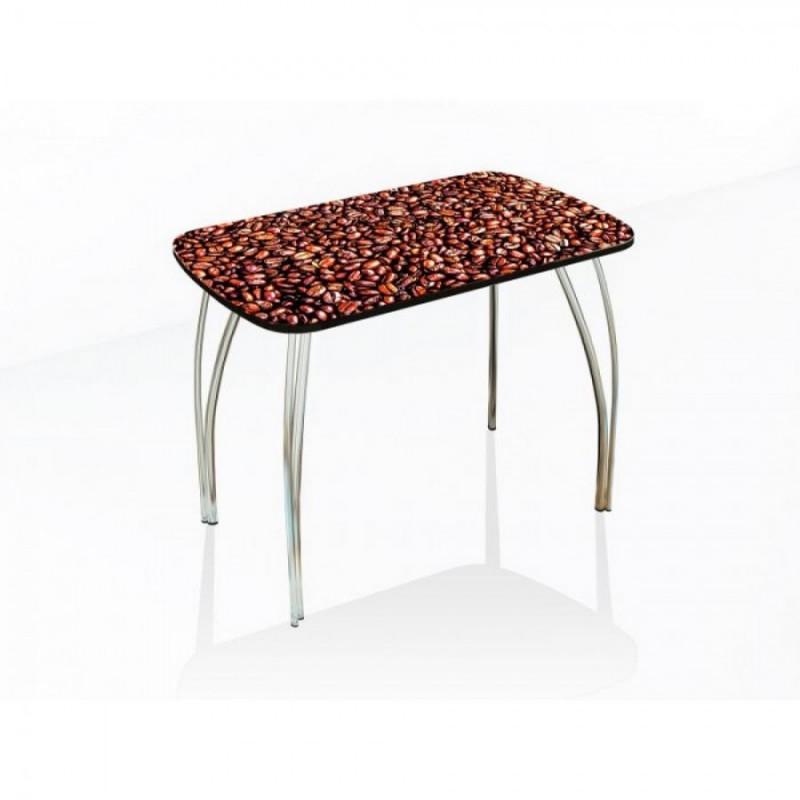 """Стол обеденный """"Агат"""" 120 см кофе"""