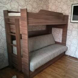 """Кровать Двухъярусная с диван-кроватью """"Бор-1"""""""