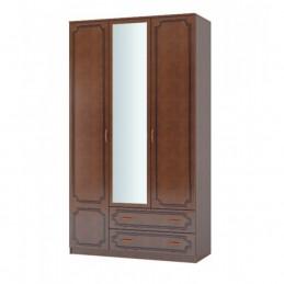"""Шкаф 4-дверный ШР-4 """"Лакированный"""" + 2 зеркала"""