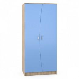 "Шкаф 403 / 401М ""Ника"" Капри синий"