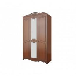 """Шкаф распашной 3-х дверн """"Лотос лакированный"""""""