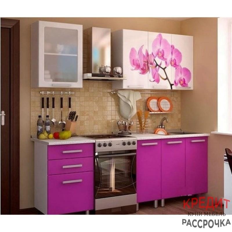 """Кухня """"Орхидея"""" 1,6 м"""
