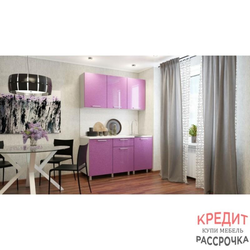 """Кухня """"Сирень"""" 1,5 м"""