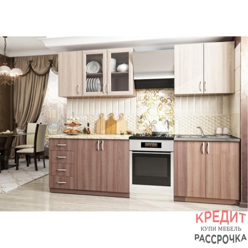 """Кухня """"Татьяна-2"""" Ясень"""