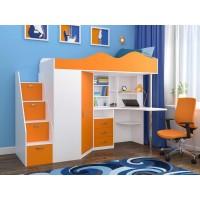 Детские кровати-чердаки купить в Белгороде | Цены на кровать-чердак в Купимебель31