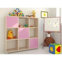 Стеллажи для игрушек в детскую комнату купить | Стеллаж для игрушек и книг в Белгороде